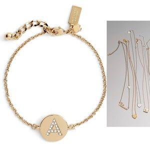 Kate Spade Pave Initial Bracelet